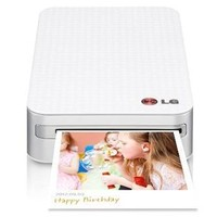 "LG PD233 Pocket Photo Printer for Smartphones, 2x3"" Print Size"