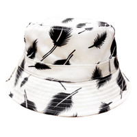 Fly Bucket Hat in White