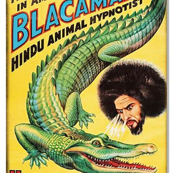Blacaman Hagenbeck-Wallace Circus Reproduction Sign 12″x18″