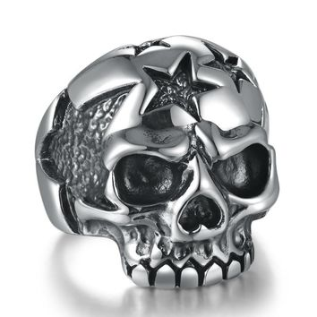 Death Star Skull Ring