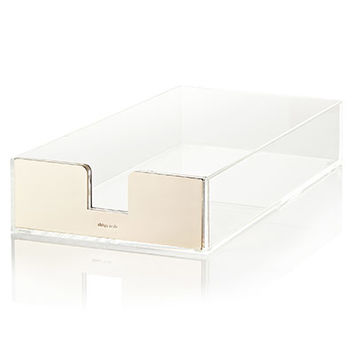 Kate Spade Acrylic Letter Tray