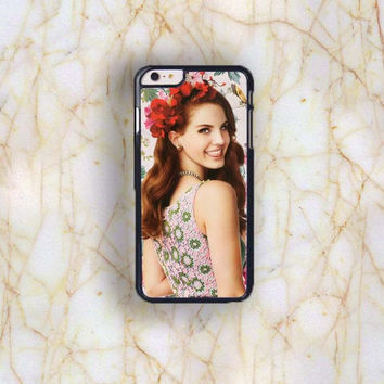 Dream colorful Dream colorful Lana del rey Plastic Case Cover for Apple iPhone 6 Plus 4 4s 5 5s 5c 6