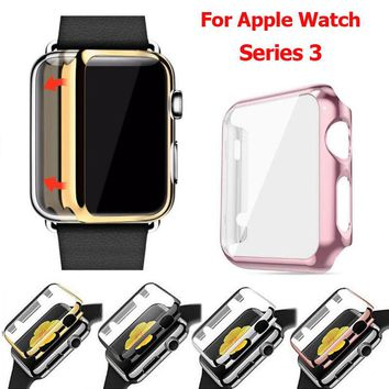 For Apple Watch Series 3 Full Protect Case+Screen Protector Cover iWatch 38/42mm