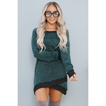 Finding Our Way Sweater (Hunter Green)