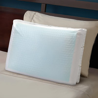 The Cooling Gel Goose Down Pillow - Hammacher Schlemmer
