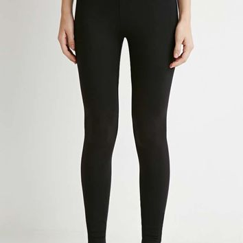 Organic Cotton-Blend Leggings