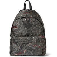 Givenchy - Leather-Trimmed Printed Backpack | MR PORTER