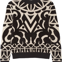 Temperley London - Jani intarsia knitted sweater