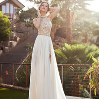 New Formal Long Evening Ball Gown Party Prom Bridesmaid Wedding Maxi Women Dress