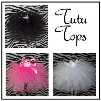 New - Tutu Tops - Baby/Infant, Toddler - Summer - Celebration - Pageant - Birthday- Fun - Dance - Pretty - Girl - Photo -