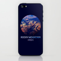 Rocky Mountain High iPhone & iPod Skin by Josrick | Society6