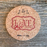 Coasters, Wedding Favors, 150 Party Favors, Personalized Wedding Favor, Bridal Shower Favors, Wedding Gift, Custom Wedding Favors