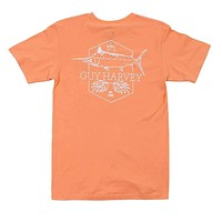 Scratchy Tee in Mango by Guy Harvey