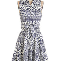 ModCloth Mid-length Sleeveless A-line Best Daisies Ever Dress