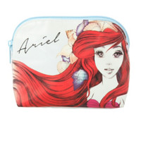 Disney The Little Mermaid Sketch Cosmetic Bag