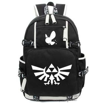Japanese Anime Bag New The legend of zelda Luminous Backpack Cosplay  Game Student School Bags Travel Shoulder Laptop Bags packsack AT_59_4