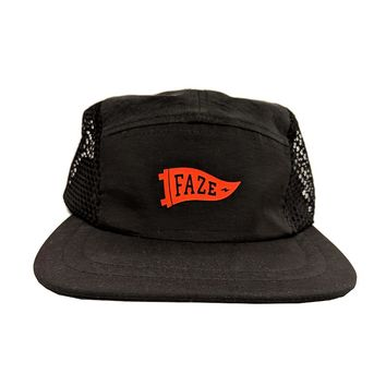9c8791852fb FAZE Flag Mesh 5-panel Hat in black