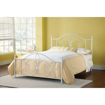 1687-500 Ruby Bed Set - Queen - Rails not included