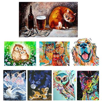 Finest DIY 5D Diamonds Painting Embroidery Canvas+Resin Stone Set for House Decoration Gift Art Craft Adornment
