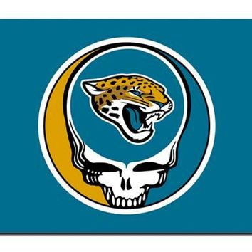 Jacksonville Jaguars Stealing Your Face flag 90x150cm polyester Custom banner with 2 Metal Grommets 3x5ft
