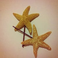 Mini Sea Star Bobby Pins