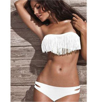 Victoria's Secret Like Tassel Sexy Erotic Bikini Swim Suit Beach Bathing Suits Swimwear _ 6621