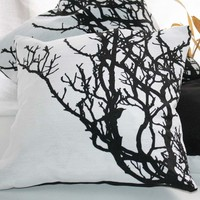 Black And White CUSHION Tree Branch.. on Luulla