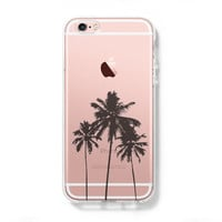 Palm Tree iPhone 6s Clear Case iPhone 6 plus Cover iPhone 5s 5 5c Transparent Case Galaxy S6 Edge S6 S5 Case