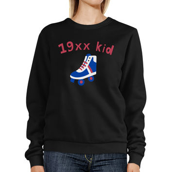 19XX Kid Sweatshirt Graphic Crewneck Pullover Fleece Sweater