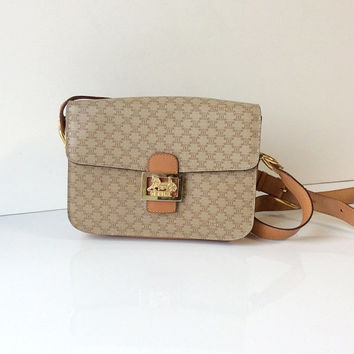 Vintage Celine Box Cross Body Bag