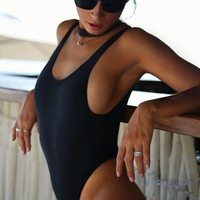 South Beach High Cut One Piece Swimsuit