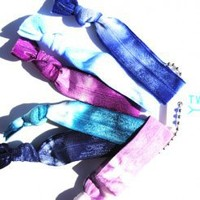 Twistband Tie Dye Jessica Six Pack Hair Tie Set