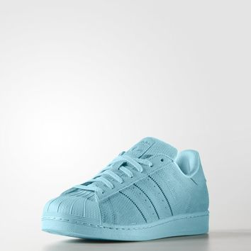 adidas Superstar Shoes - Blue  4bfa7e2245