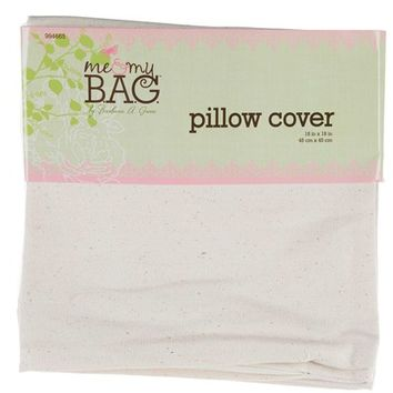 """18"""" x 18"""" Natural Canvas Pillow Cover 