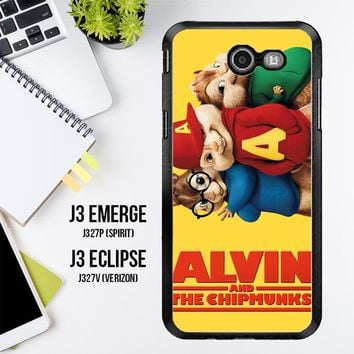 Alvin And The Chipmunks F0267 Samsung Galaxy J3 Emerge, J3 Eclipse , Amp Prime 2, Express Prime 2 2017 SM J327 Case
