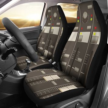 Sound Mixer Car Seat Covers