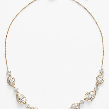 Women's Nadri Cubic Zirconia Frontal Necklace