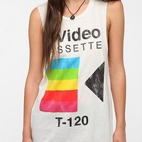 Corner Shop Video Cassette Muscle Tee