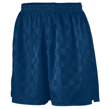 Augusta 430 Long Checkerboard Nylon Short - Navy