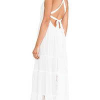 6 SHORE ROAD Twin Isles Maxi Dress in Ivory