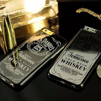 LIMITED EDITION Jack Daniels Whiskey Mirror Phone Case for iPhone 5 5S 6 6plus