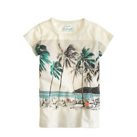 Girls' island tee - collectible tees - Girl's Shop By Category - J.Crew