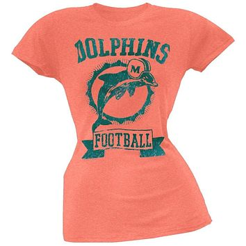 quality design aa57a 1a13f Shop Miami Dolphins T Shirts Vintage on Wanelo