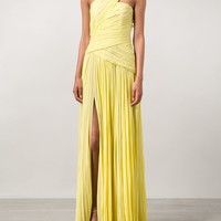 J. Mendel One Shoulder Draped Gown - Marissa Collections - Farfetch.com