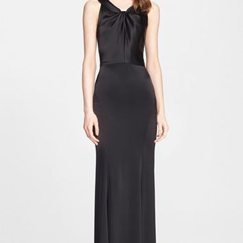 Women's St. John Collection Liquid Satin Gown,