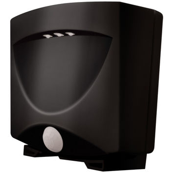 Maxsa Innovations Battery-powered Motion-activated Outdoor Night Light (black And Dark Bronze)