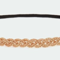 Golden Eye Gold Headband