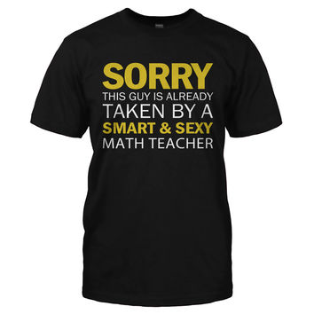 Guy Taken By Math Teacher