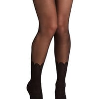 ModCloth Boudoir Playfully Posh Tights