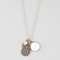 Full Tilt Charm Necklace Gold One Size For Women 25136662101